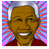 Madiba caricature button